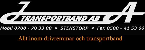 JA Transportband AB